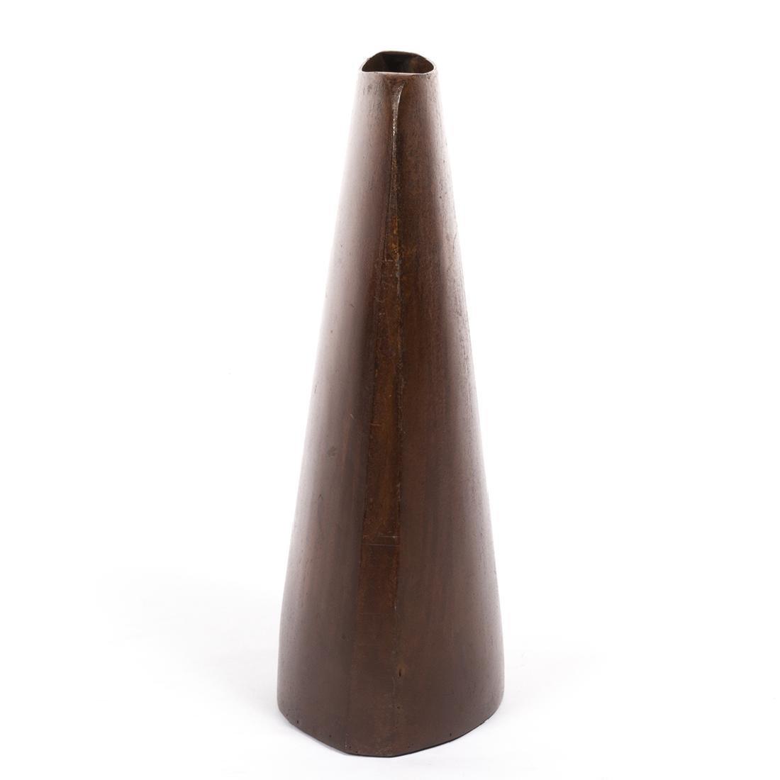Jeffrey Brown Bronze Vase - 3