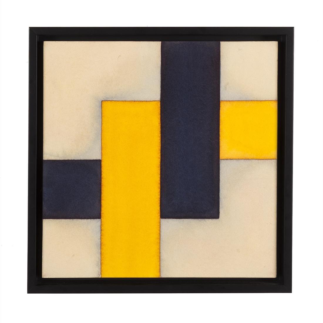 Patsy Krebs Geometric Acrylic on Paper