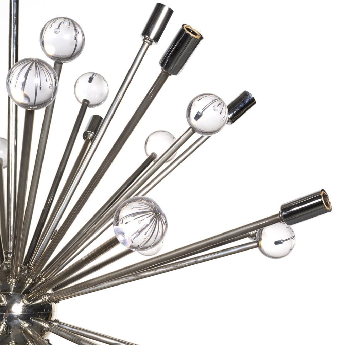Chrome Sputnik Chandelier - 2