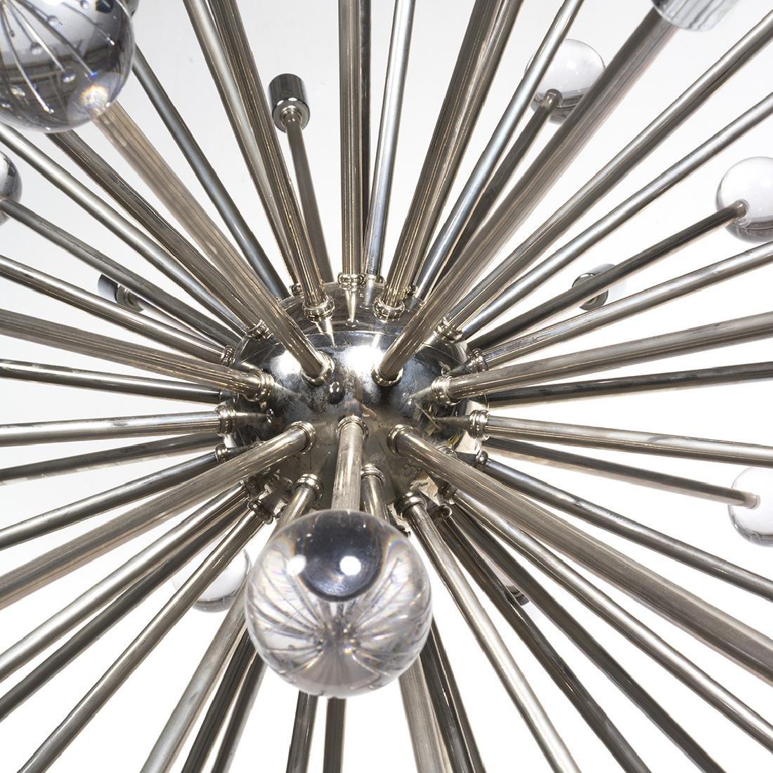 Chrome Sputnik Chandelier - 3