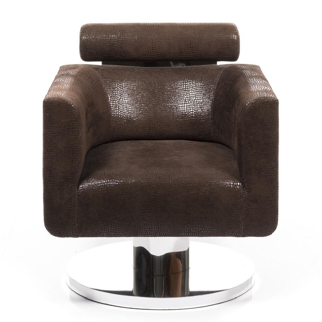 Luigi Gentile Custom Swivel Lounge Chair - 2