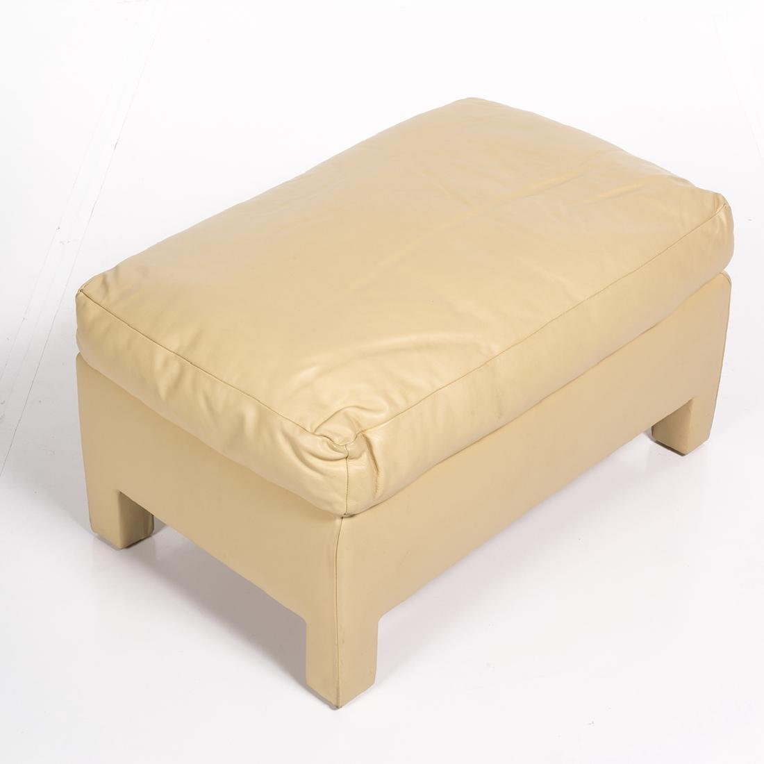 Donghia Leather Ottomans (2) - 4