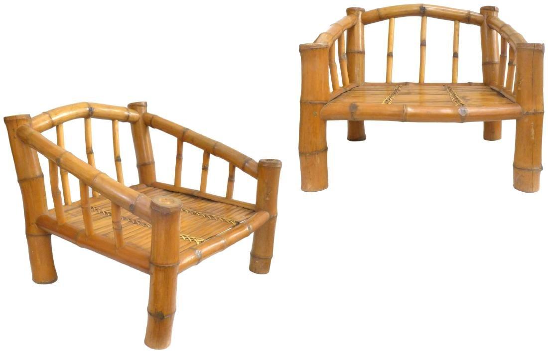 American Organic Design Bamboo Chairs (2)