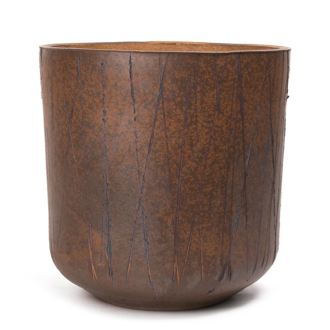David Cressey Stoneware Planter