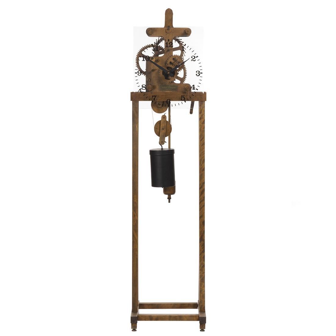 William Talmadge Wooden Floor Standing Clock