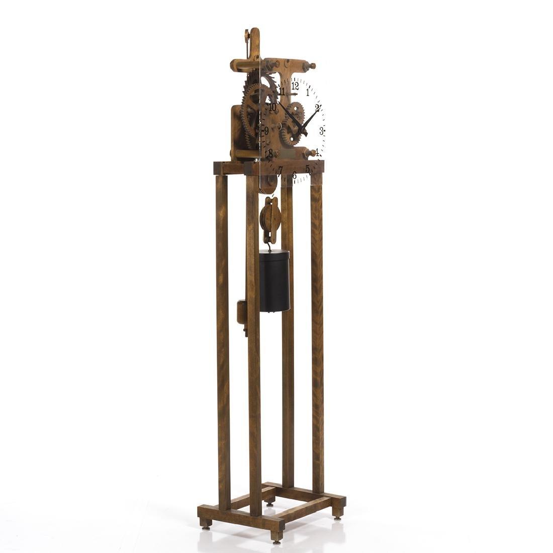 William Talmadge Wooden Floor Standing Clock - 2