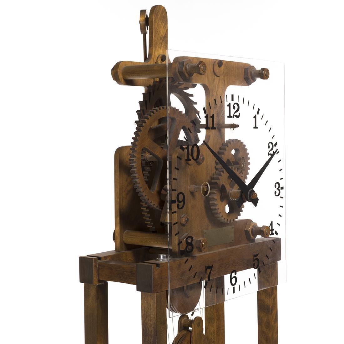 William Talmadge Wooden Floor Standing Clock - 3
