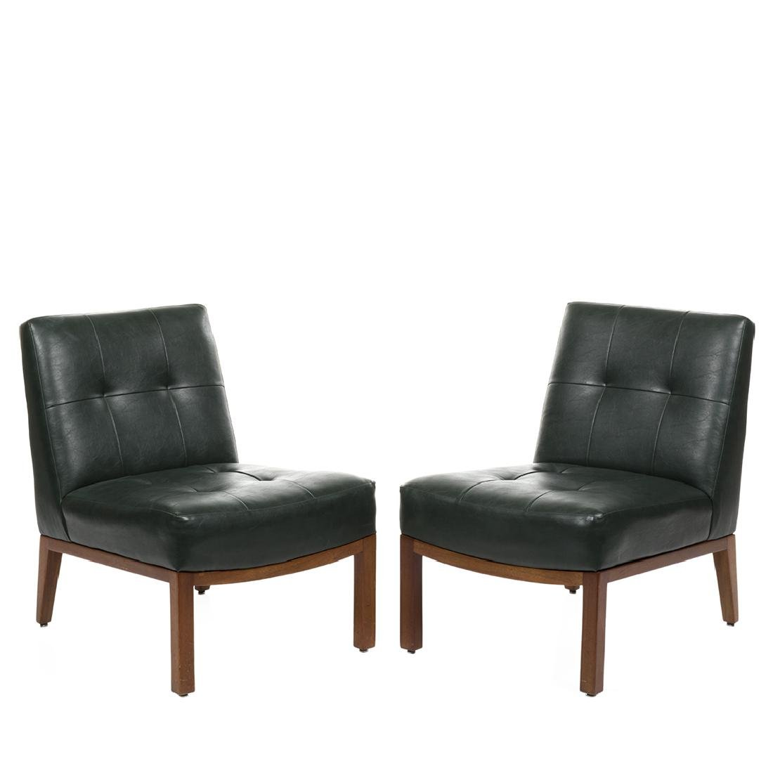 Edward Wormley Slipper Chairs (2)