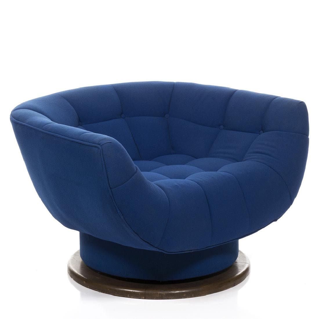 Monumental Adrian Pearsall Swivel Lounge Chair - 2