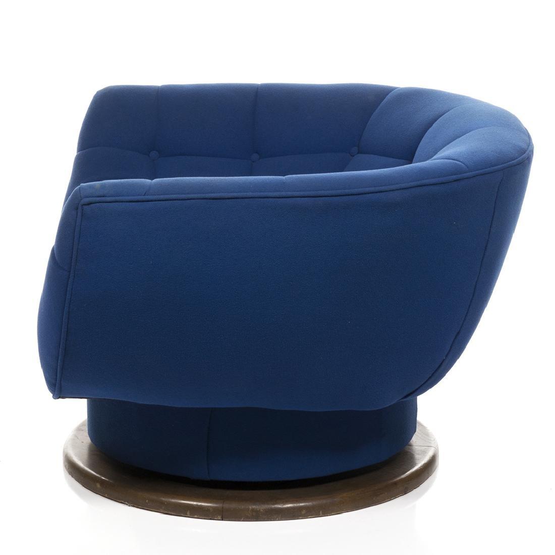 Monumental Adrian Pearsall Swivel Lounge Chair - 3