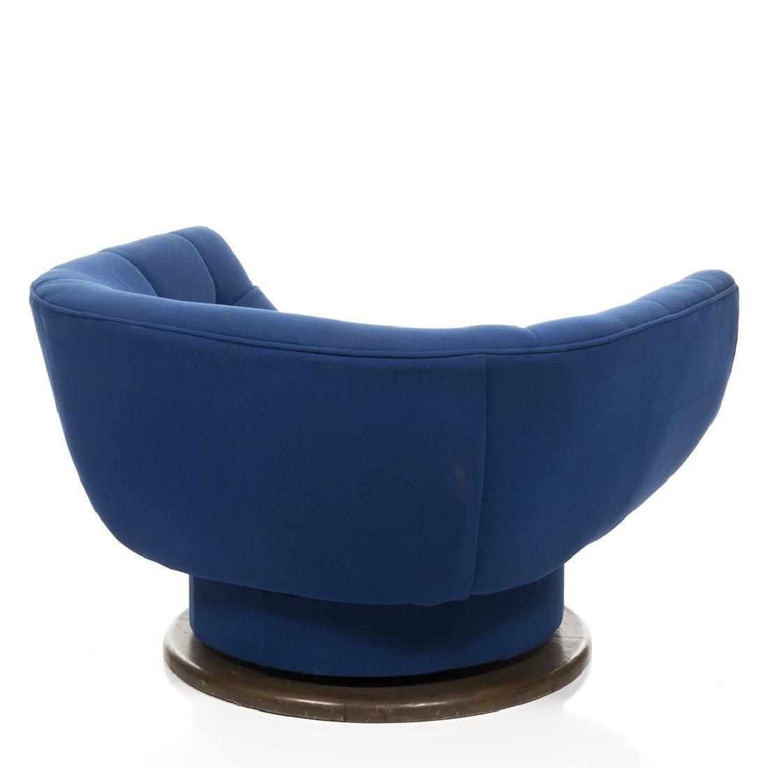 Monumental Adrian Pearsall Swivel Lounge Chair - 4