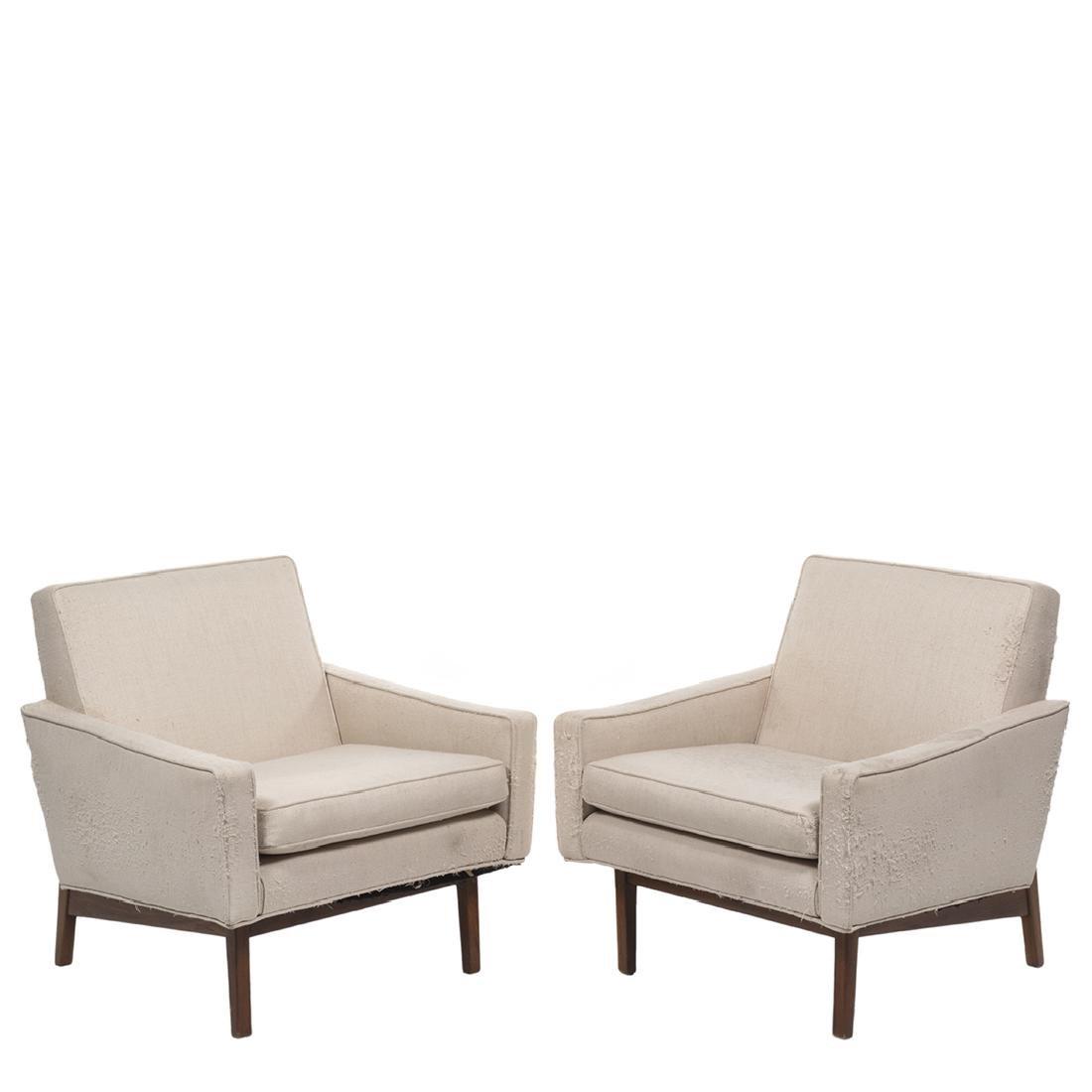 Jens Risom Lounge Chairs (2)