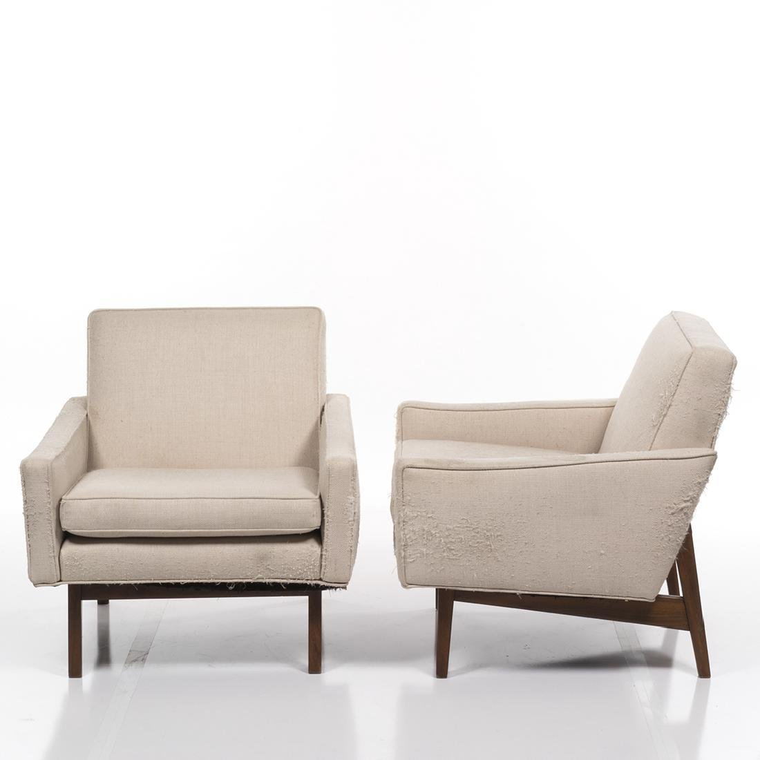 Jens Risom Lounge Chairs (2) - 2