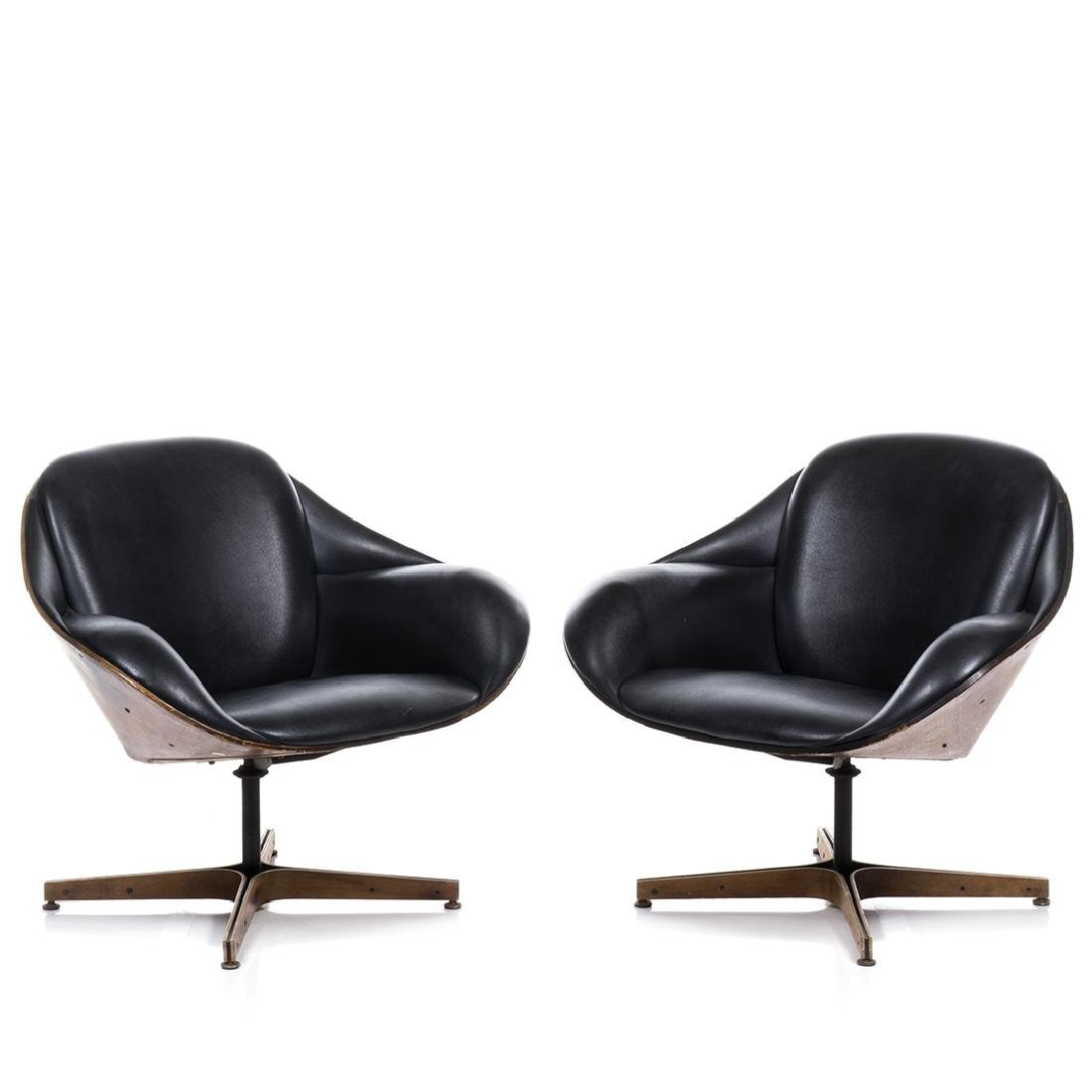 George Mulhauser Lounge Chairs (2)