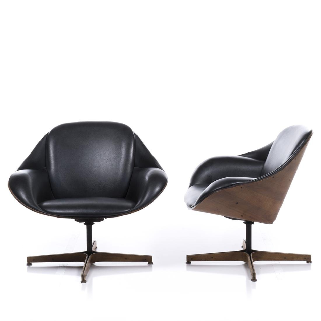 George Mulhauser Lounge Chairs (2) - 3
