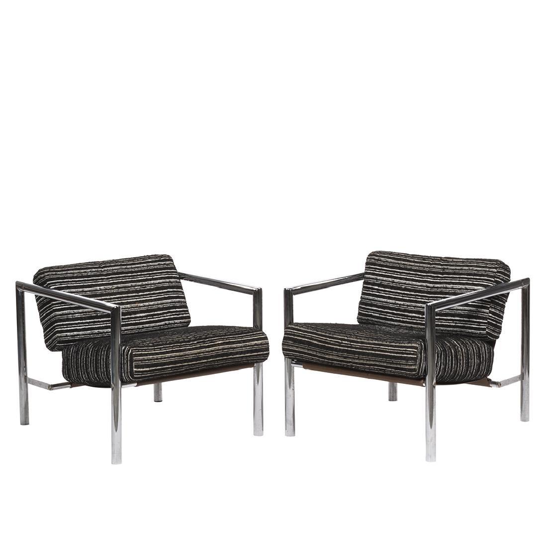 Jean Ginat Club Chairs (2)