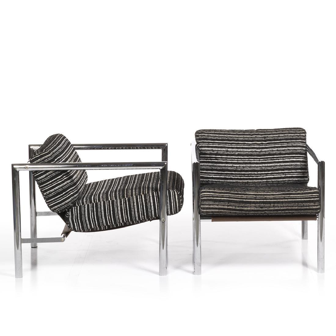 Jean Ginat Club Chairs (2) - 2