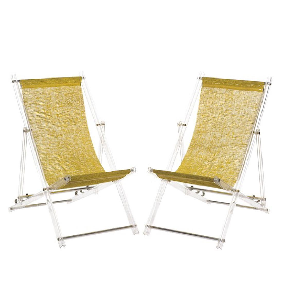 Folding Deck Chairs 2