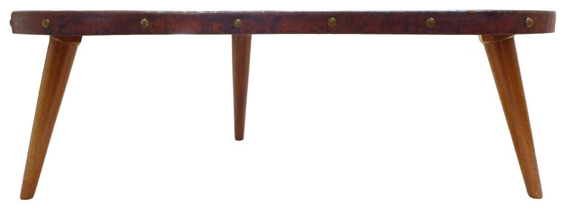 Leather Coffee Table - 2