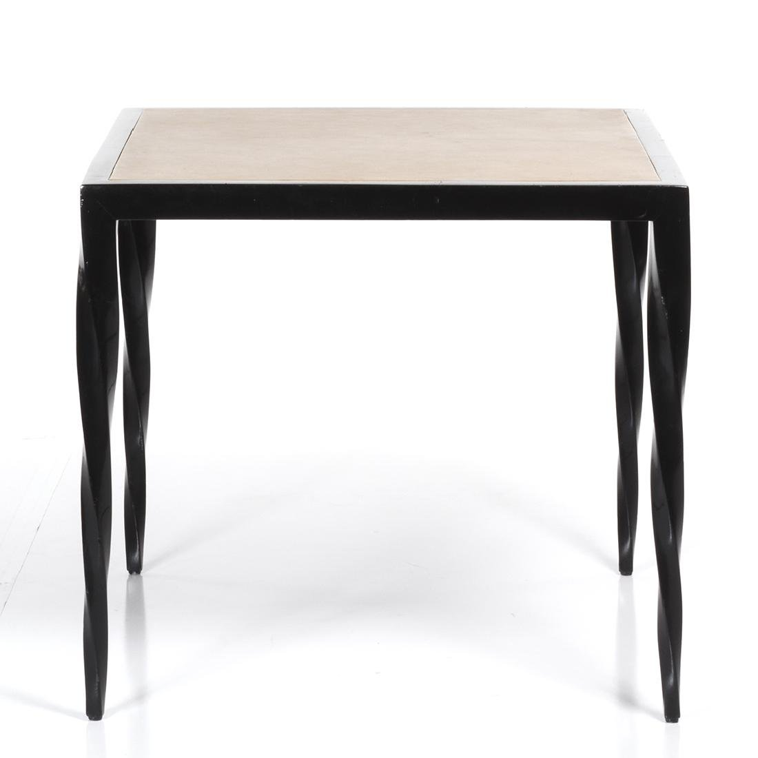 Lacquered Art Deco Game Table - 2