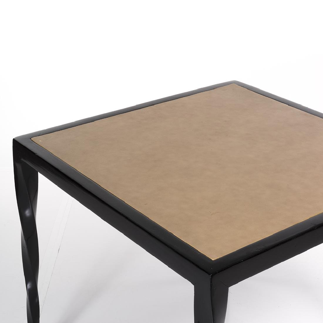 Lacquered Art Deco Game Table - 3