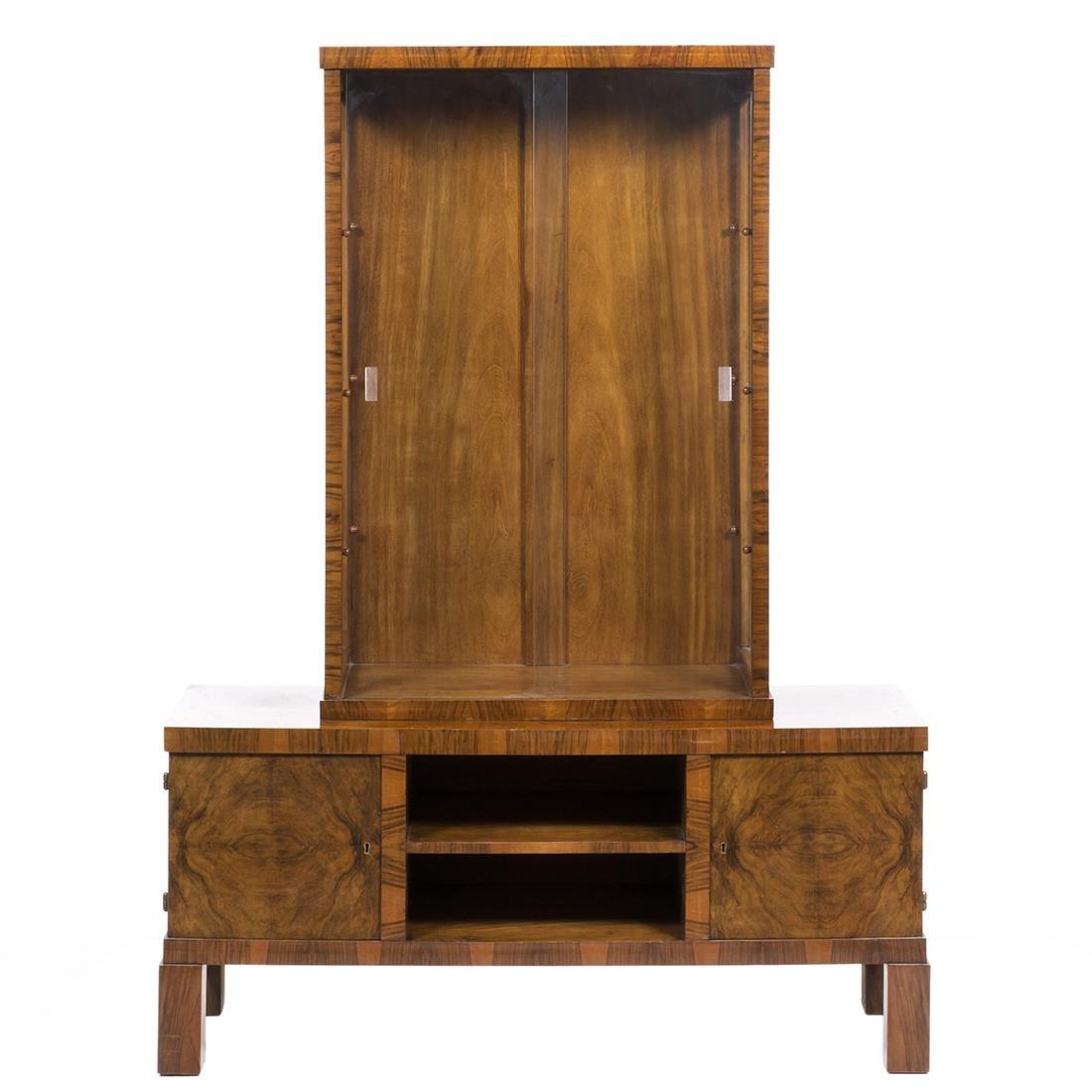Rosewood Art Deco Cabinet