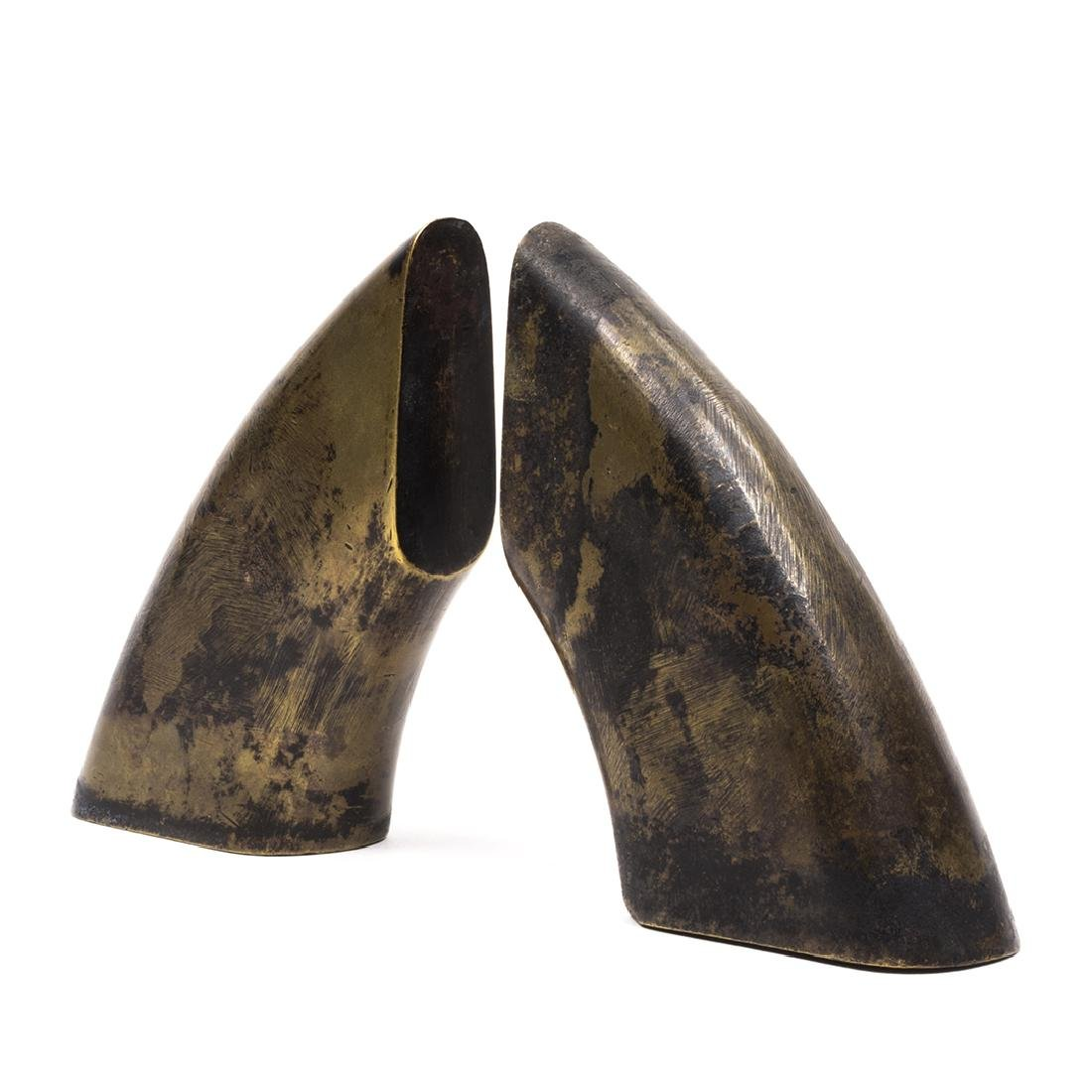 Carl Aubock Bronze Bookends (2) - 2