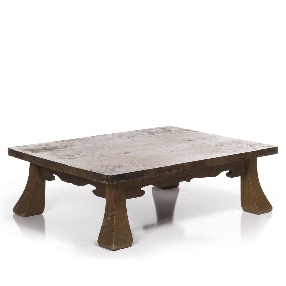 Low Craftsman Style Table - 2