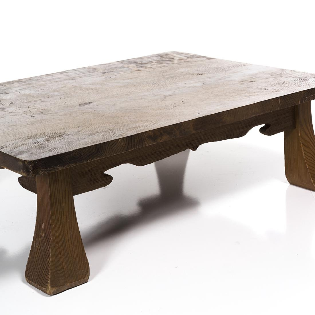 Low Craftsman Style Table - 4
