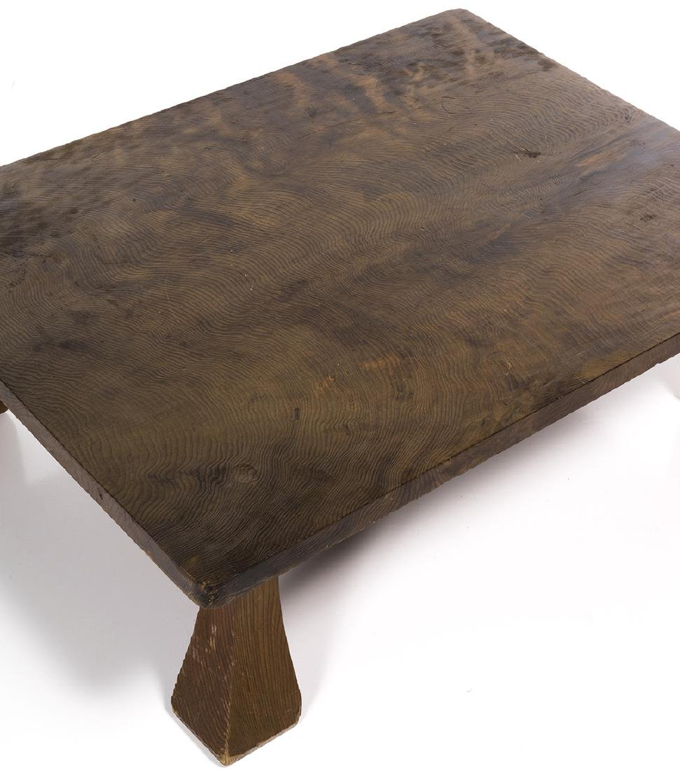 Low Craftsman Style Table - 5