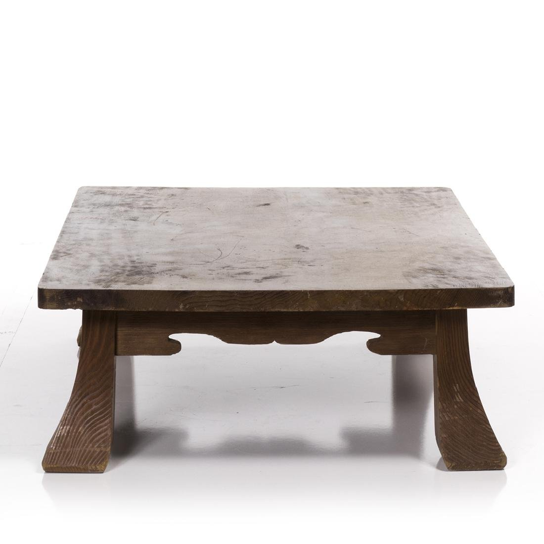 Low Craftsman Style Table - 6
