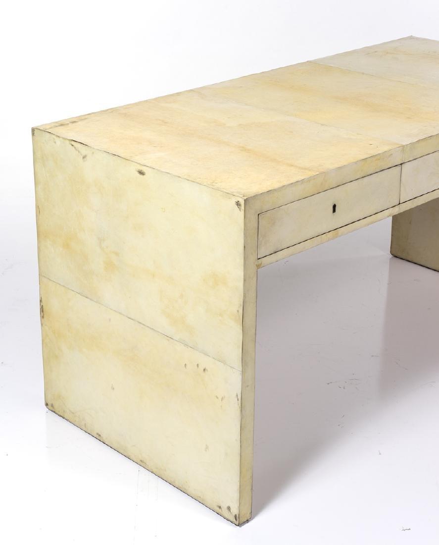 Parchment Partner's Desk - 3