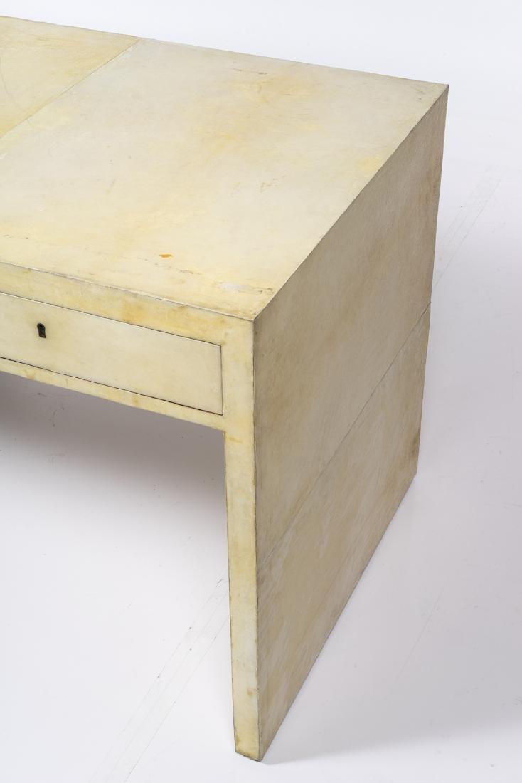 Parchment Partner's Desk - 4