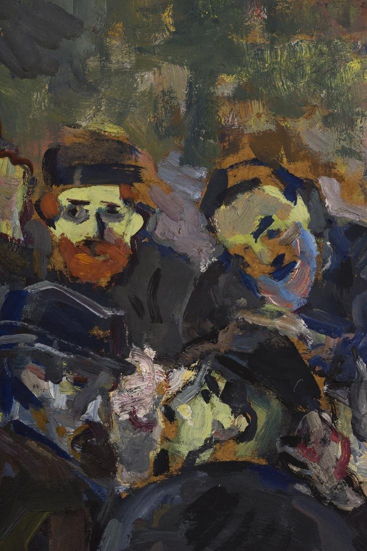 Solomon Moiseevich Gershov Oil on Board - 2