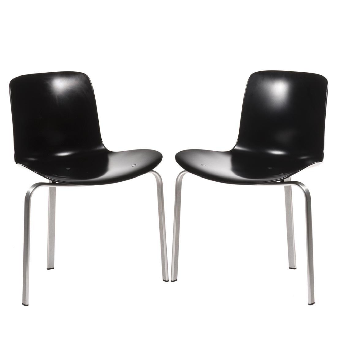 Poul Kjaerholm PK-8 Chairs (2)