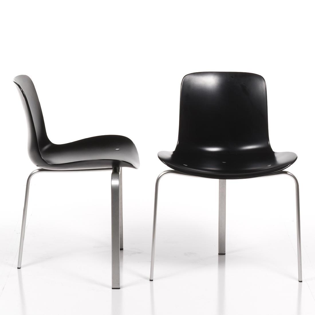 Poul Kjaerholm PK-8 Chairs (2) - 2