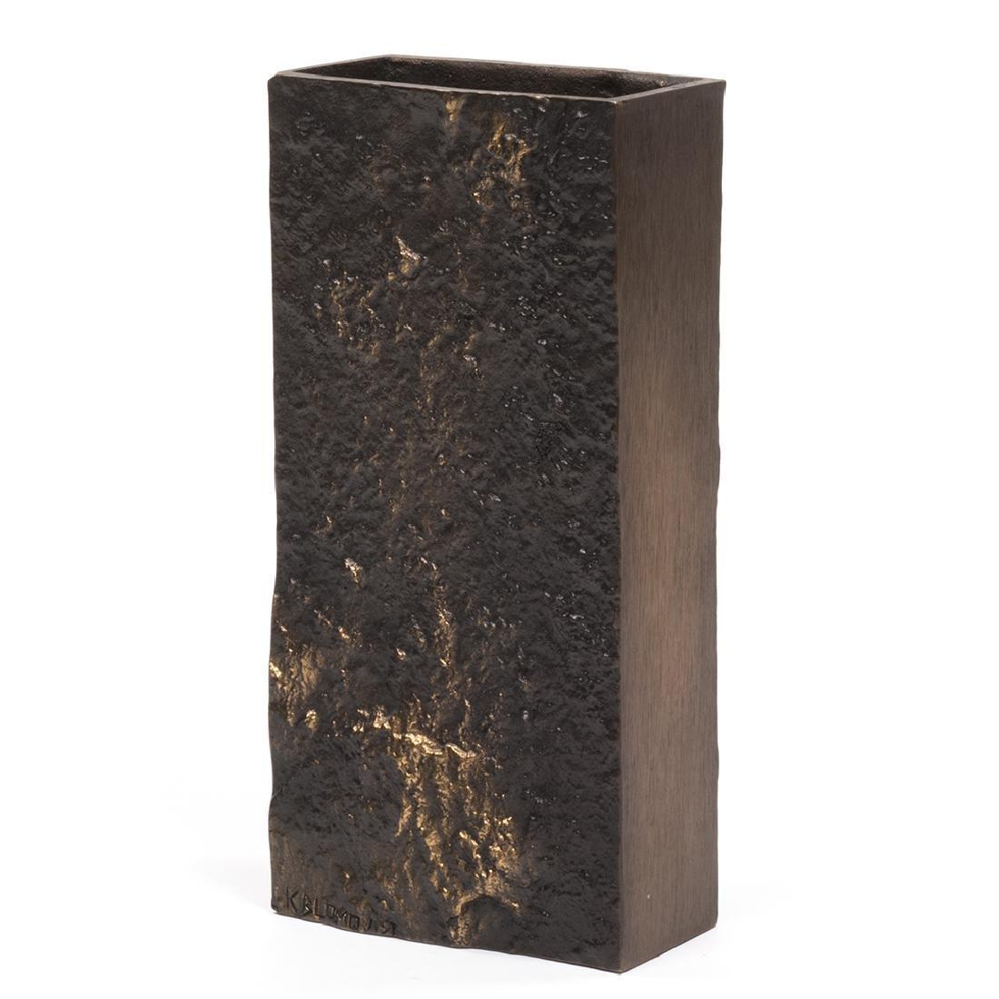 Jukka Kosonen Bronze Vase - 2