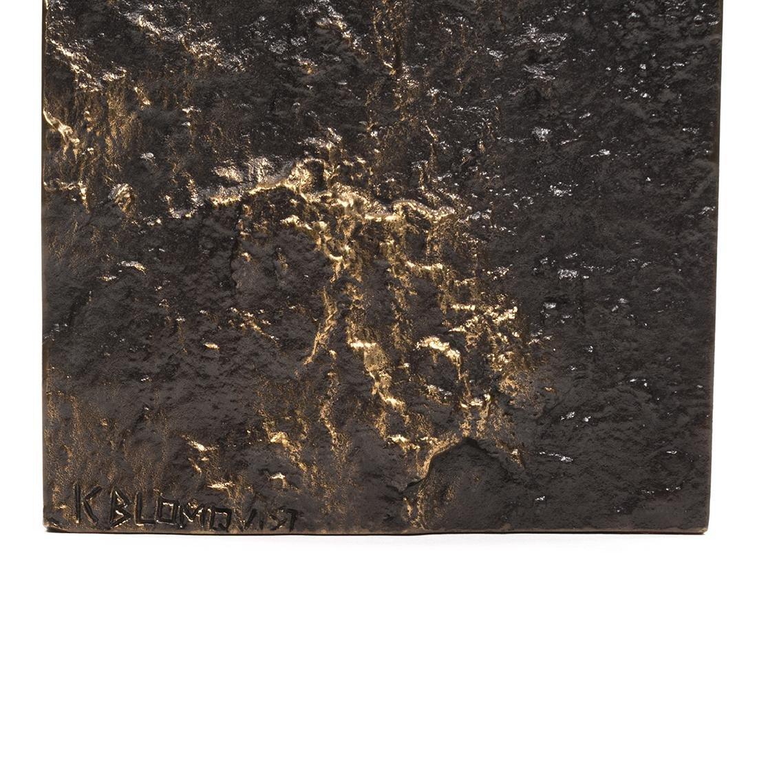Jukka Kosonen Bronze Vase - 4