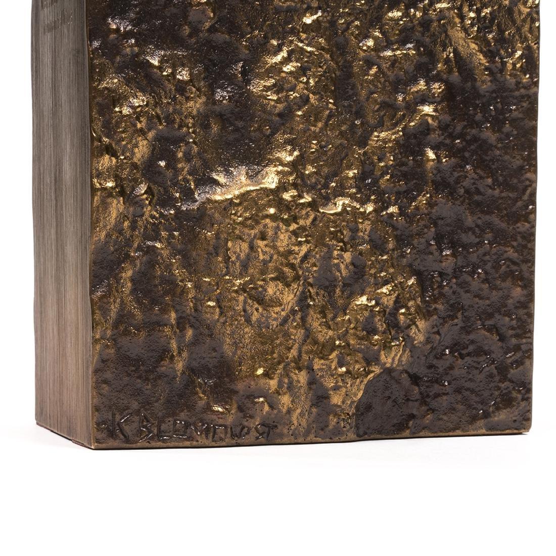 Jukka Kosonen Bronze Vase - 5