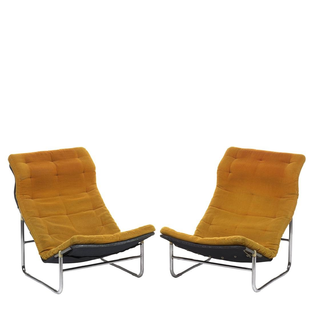 Bruno Mathsson Lounge Chairs (2)