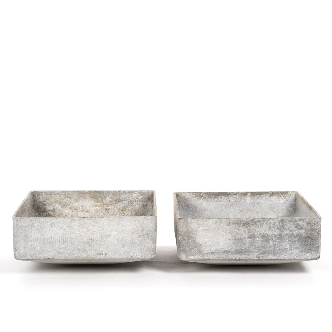 Willy Guhl Square Planters (2) - 2
