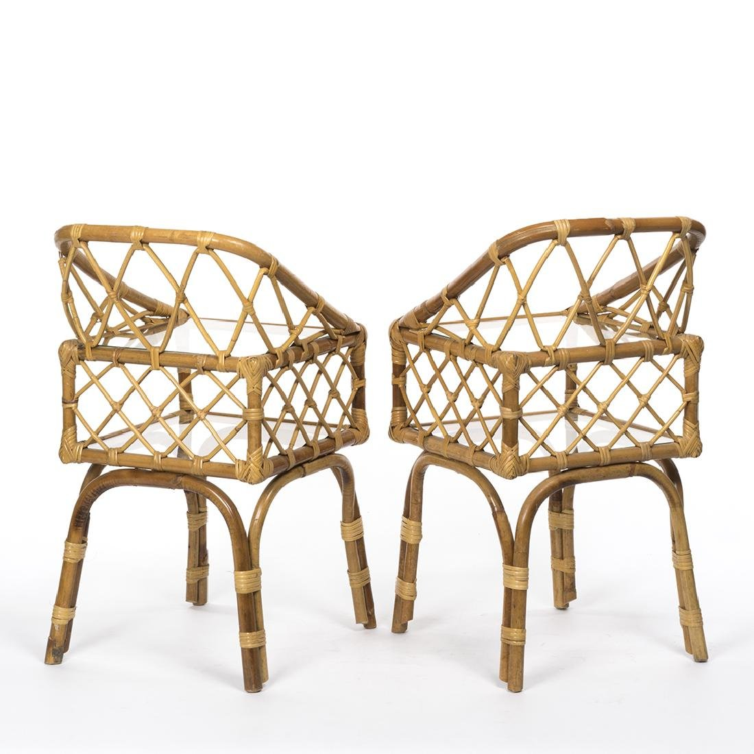 Rattan Side Tables (2) - 3