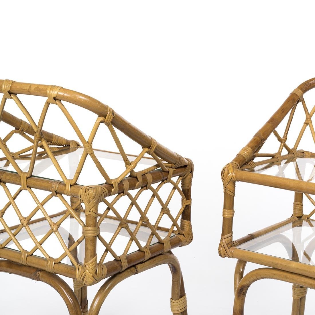Rattan Side Tables (2) - 4