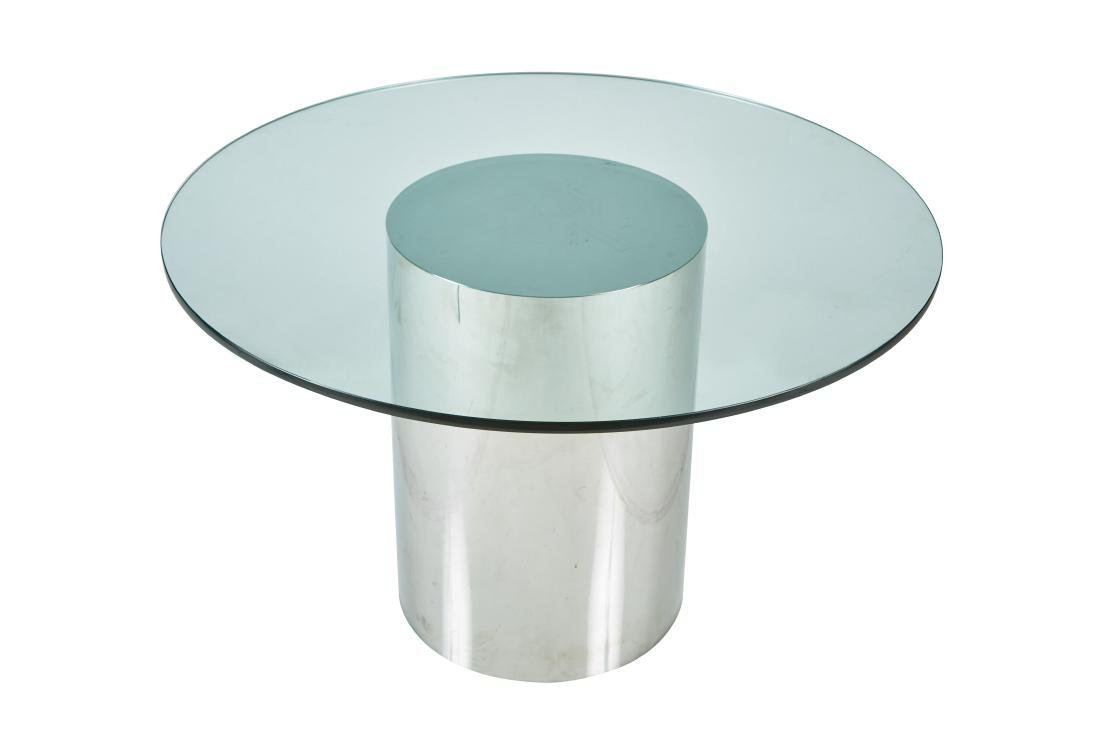 Habitat Chrome Table