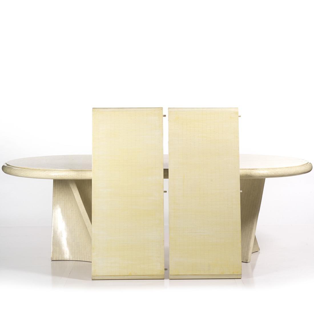 Karl Springer Style Dining Table - 2