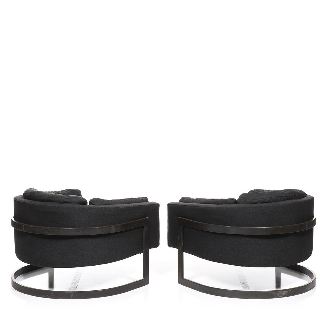 Jules Heumann Bronze Lounge Chairs (2) - 3