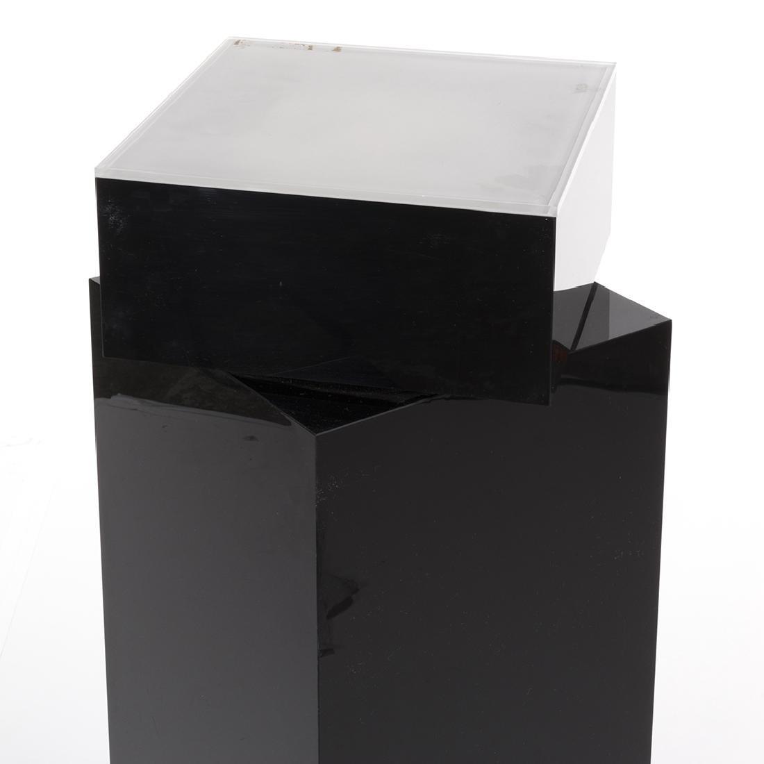 Charles Hollis Jones Acrylic Pedestal - 4