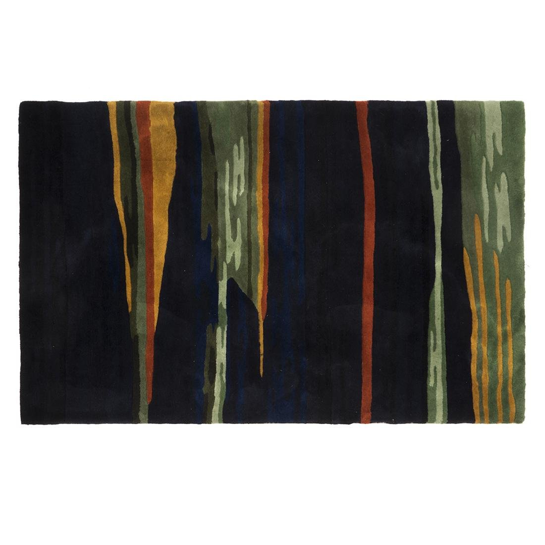 Modernist Abstract Wool Rug
