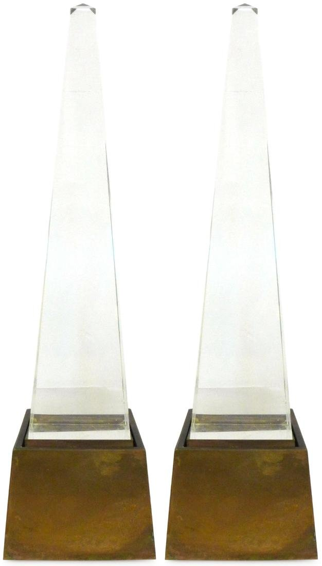 Chapman Obelisk Lamps (2)
