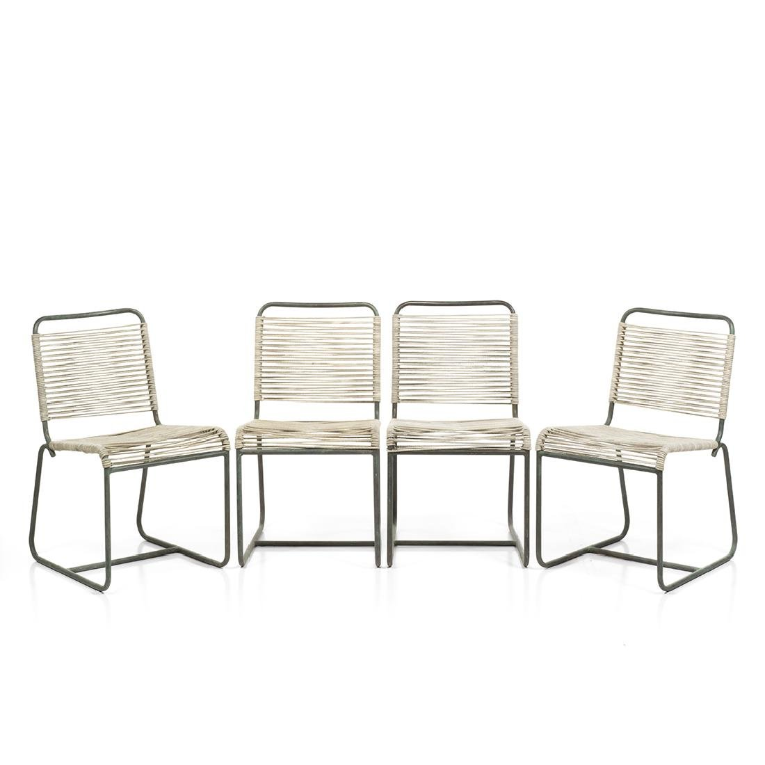 Walter Lamb Dining Chairs (4)